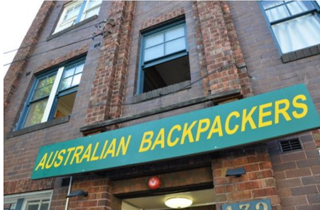australian backpackers hostel sydney hotels bedroom. Black Bedroom Furniture Sets. Home Design Ideas