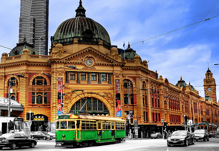 Melbourne Flinder st station Melbourne Tourist Attractions | Places To Visit